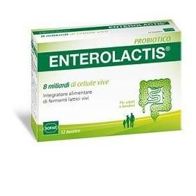 Enterolactis 12 buste Sofar fermenti lattici probiotici