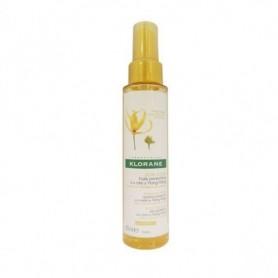 Klorane Olio Cera Ylang 100ml protezione capelli