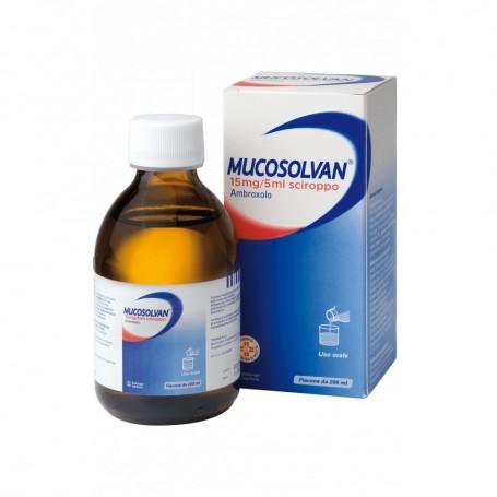 Mucosolvan sciroppo 200ml 15mg/5ml tosse