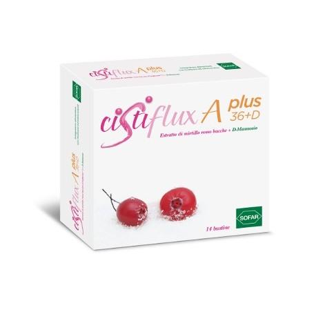 Cistiflux A Plus 36+D 14 Buste Cura Cistite