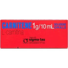 Carnitene os 10 fiale 1g Monodose soluzione orale