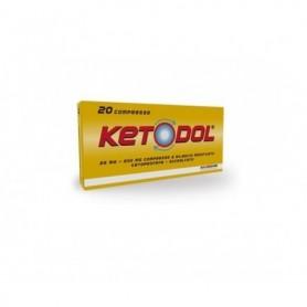 Ketodol 20 compresse 25mg+200mg