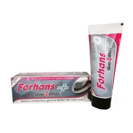Forhans Dentifricio Silver 4 white 75ml