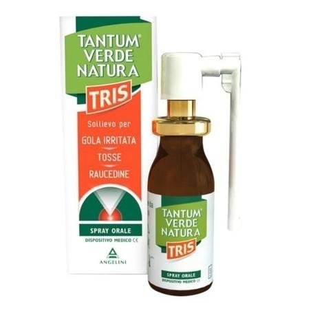 Tantum Verde Natura Tris Nebulizzatore gola spray