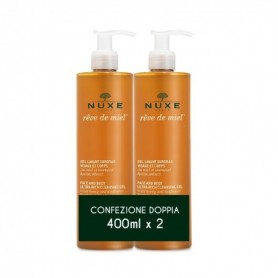 Nuxe Reve De Miel Duo Gel Lavante 400ml x 2