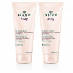 Nuxe Body Duo Gel Douche Fondant Petales Rose 200ml x 2 gel doccia