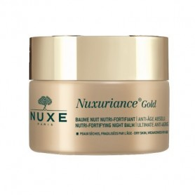 Nuxe Nuxuriance Gold Baume Nuit 50ml Crema Notte Nutri-Fortificante