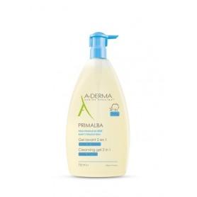 Aderma Primalba Gel Detergente 2in1 750ml Bagnetto Bimbo