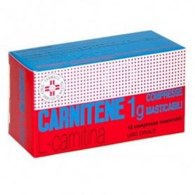 Carnitene 10 compresse masticabili 1g