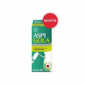 Aspi Gola os Spray 15ml 0,25% mal di gola