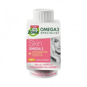 Enerzona Omega 3 Rx Skin 42 capsule Pelle Capelli Collagene