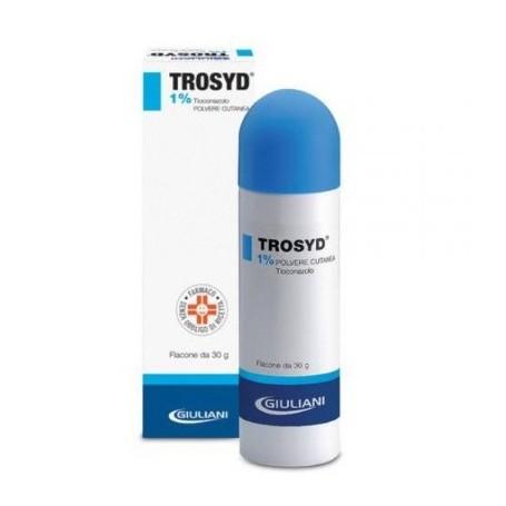 Trosyd Polvere Cutanea 30g 1% Antimicotico Funghi