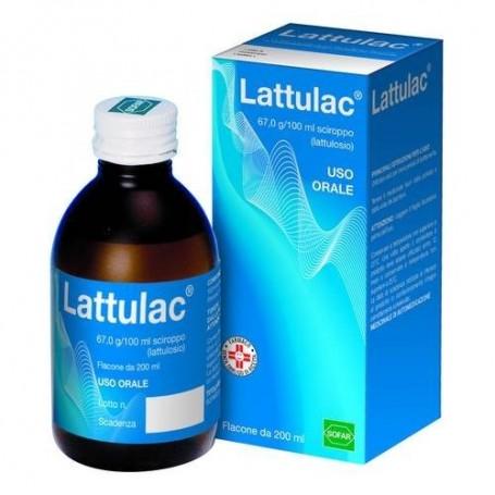 Lattulac sciroppo 200ml 67g/100ml Lassativo