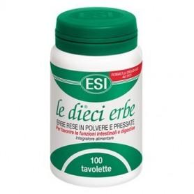 Esi Le Dieci Erbe 100 tavolette 40g lassativo funzioni digestive