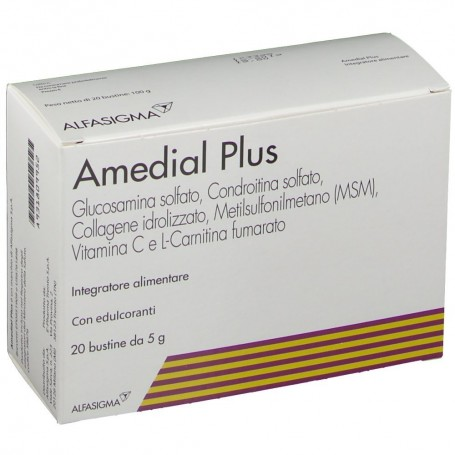 Amedial Plus 20 buste Collagene Ossa Cartillagini