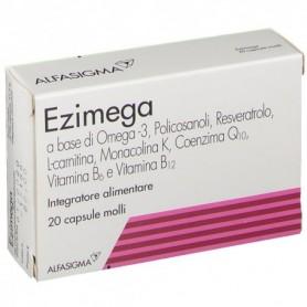Ezimega 20 capsule Molli Colesterolo e Trigliceridi