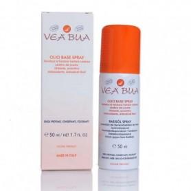 Vea Bua Spray Olio Base 50ml Crema Lenitiva Idratante Protettiva