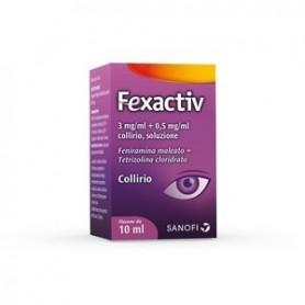 Fexactiv collirio 1fl 10ml Congiuntivite Allergica Occhi