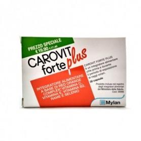 Carovit Forte Plus 30 capsule Abbronzatura Preparazione al Sole