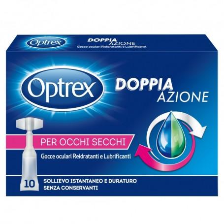 Optrex Doppia Azione Gocce Reidratanti Occhi Secchi