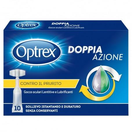 Optrex Doppia Azione Gocce Oculari Lenitive Idratanti Lubrificanti