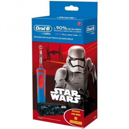 Oralb Power Spazzolino Elettrico Starwars per Bambini 3+