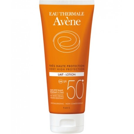 Avene Eau Therm Latte Spf 50+ 250 ml Protezione Solare Pelle Sensibile