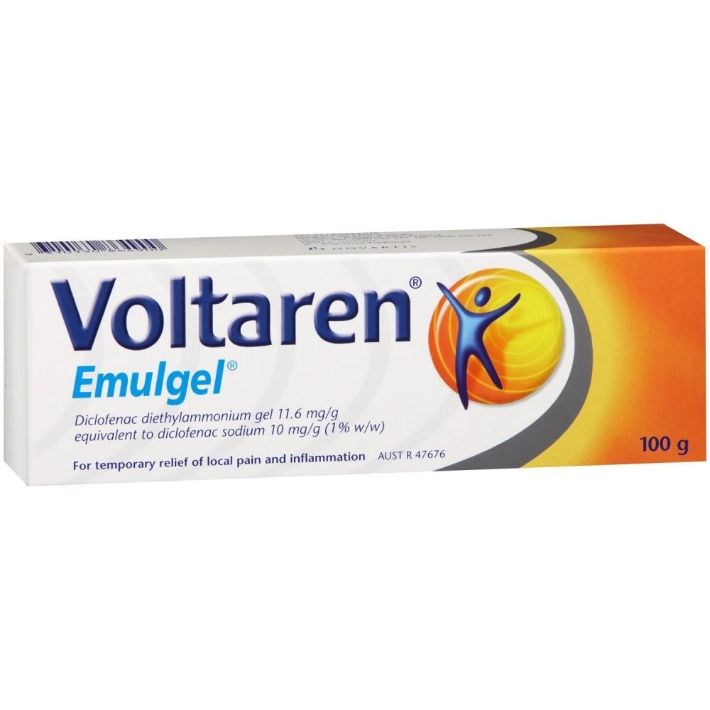 Voltaren Emulgel gel 100g 1% Traumi e dolori muscolari e..