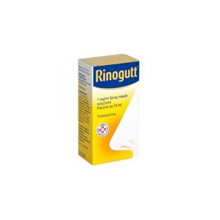 Rinogutt spray Nasale 10ml Decongestionante Nasale Raffreddore