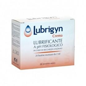 Lubrigyn Crema Vaginale 20 buste 2ml Lubrificante Vaginale