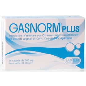 Gasnorm Plus 36 capsule Gas Intestinali Flatulenza