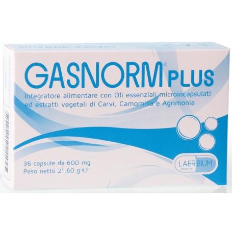 Gasnorm Plus 36 capsule Gas Intestinali Flatulenza