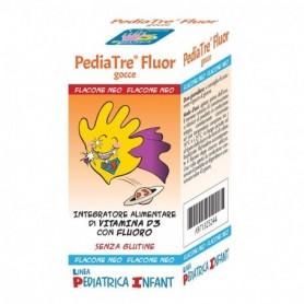 Pediatre Fluor 7ml Vitamina D3 e Fluoro Denti e Ossa Bambini