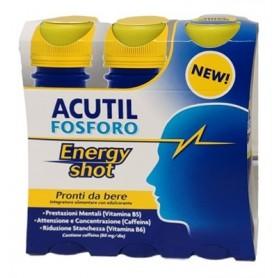 Acutil Fosforo Energy S 3x60ml Concentrazione Attenzione Stanchezza