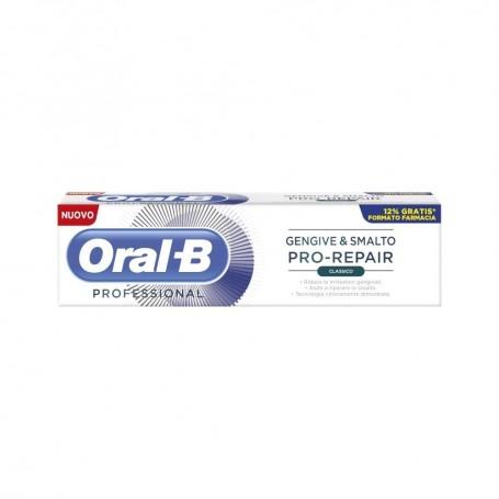 Oralb Repair Dentifricio Classico 85ml Protezione Gengive Ripara Smalto
