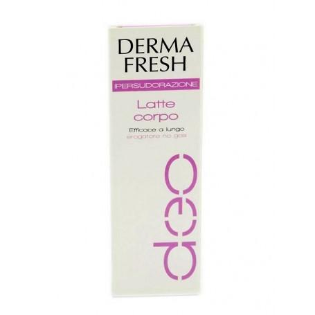 Dermafresh Deodorante Ipersudorazione Latte Corpo
