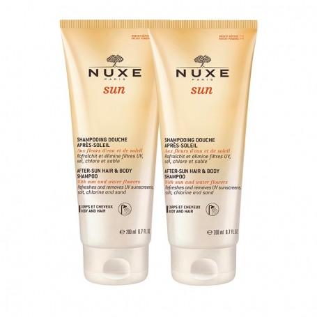 Nuxe Sun Duo Shampoo Douche 2x200ml Shampoo Doccia Doposole
