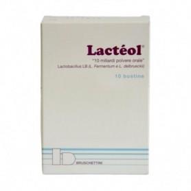 Lacteol polvere 10 buste 10 miliardi fermenti lattici
