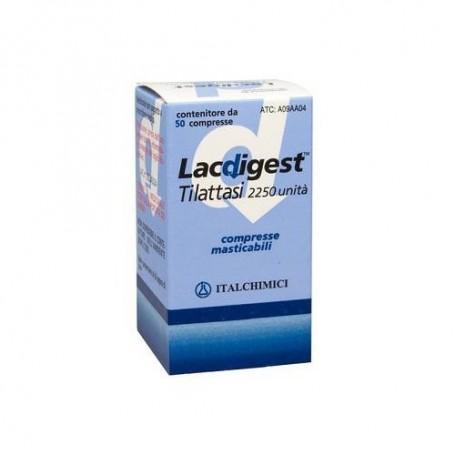 Lacdigest 50 compresse Masticabili 2250u Intolleranza al lattosio