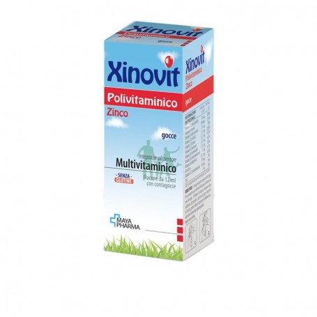 Xinovit Polivitaminico 12ml Multivitaminico