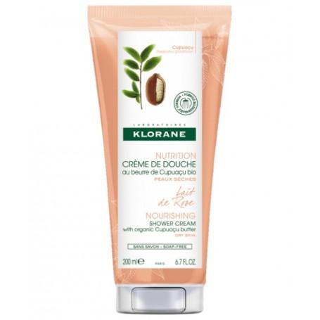 Klorane Crema Doccia Latte Rosa 200 ml