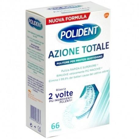 Polident Azione Totale 66 compresse Pulizia Protesi/Dentiera