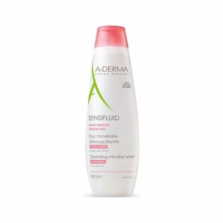 Sensifluid Acqua Struccante e Detergente 250ml Aderma