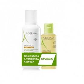 A-Derma Exomega Control Balsamo 400ml + Olio lavante 200ml