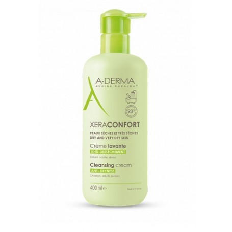 Aderma Xera-confort Detergente per Pelli Secche e molto Secche 400ml