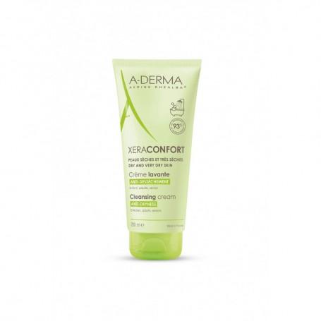 Aderma Xera-confort Crema Detergente Pelle Secca e molto Secche 200ml