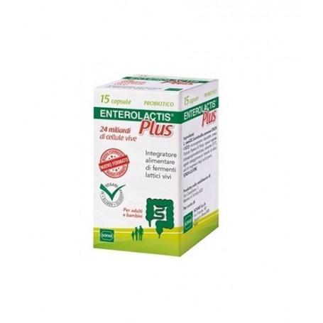 Enterolactis Plus 15 Capsule Fermenti Lattici Sofar