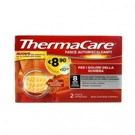 Thermacare Schiena 2 Fasce Autoriscaldanti Calore Terapeutico