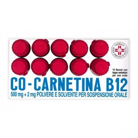 Cocarnetina B12 os 10 fiale 10ml Denutrizione