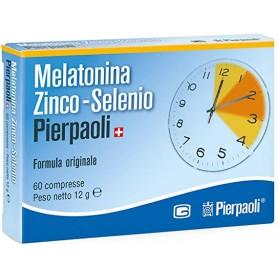 Melatonina Zinco Selenio 60 Compresse Sonno e Relax